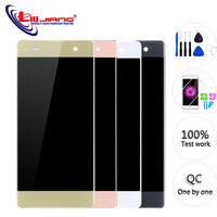 5.0'' For SONY Xperia XA F3111 F3112 F3115 F3116 ORIGINAL LCD Display Digitizer Assembly Touch screen Frame with Free Tools