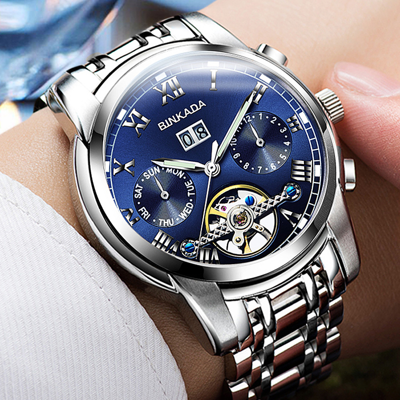 Relogio Masculino Watches Men Skeleton Mechanical Watch Business Top Brand Luxury Watches Automatic Skeleton Watches luxury brand mg orkina new design relogio masculino engraving skeleton mens automatic watches top brand wrist watch