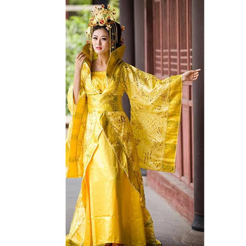Ancient Chinese Costume Colorful Formal Han Fu Princess Fairy Costume Outfit Hanfu Ru Dress Wide Sleeves Chinese Dance Costumes