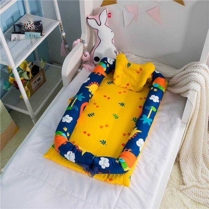Original bébé délice blottir nid sécurité infantile lit d'isolement infantile bébé berceaux bébé lit infantile bébé lit de couchage - 4