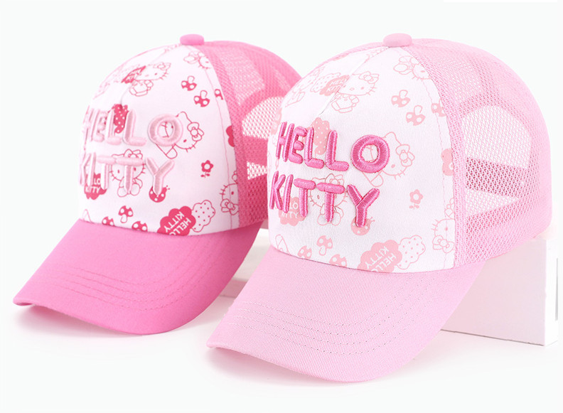 Summer Cartoon Hats For Children Boys Outdoor Travel Hat Gift For Kids Party