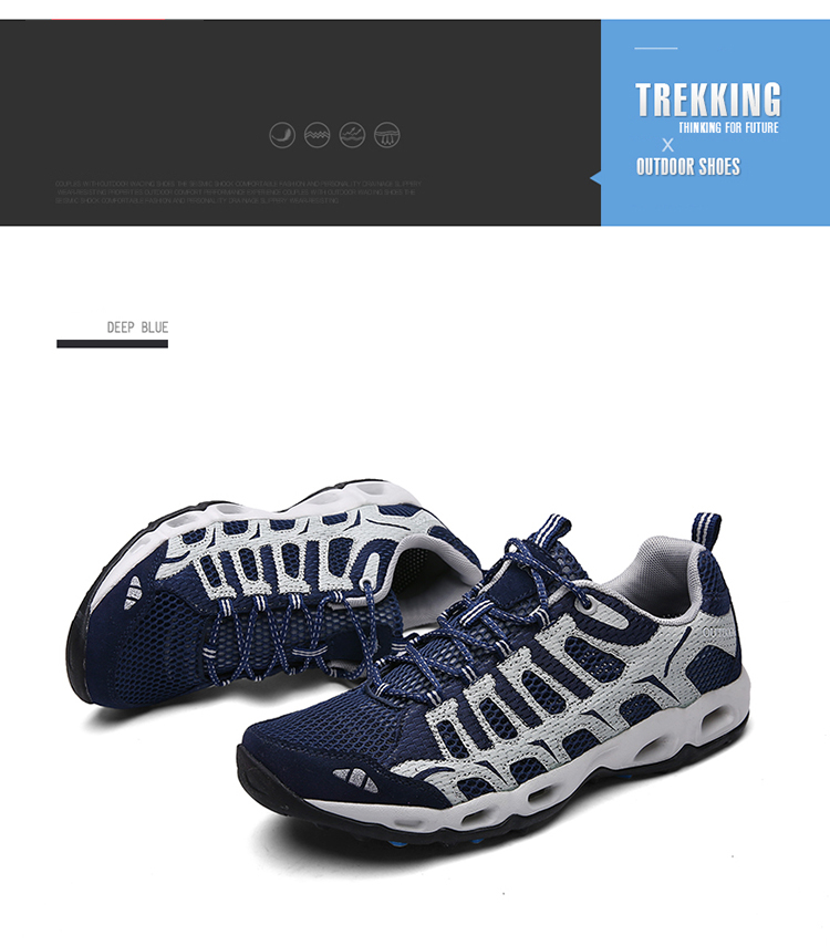 New 2017 Summer Unisex Aqua Shoes Air Mesh Clorts Outdoor Shoes Women Sneakers Lace Up Breathable Hiking Shoes Size 35-44 V1 (18)