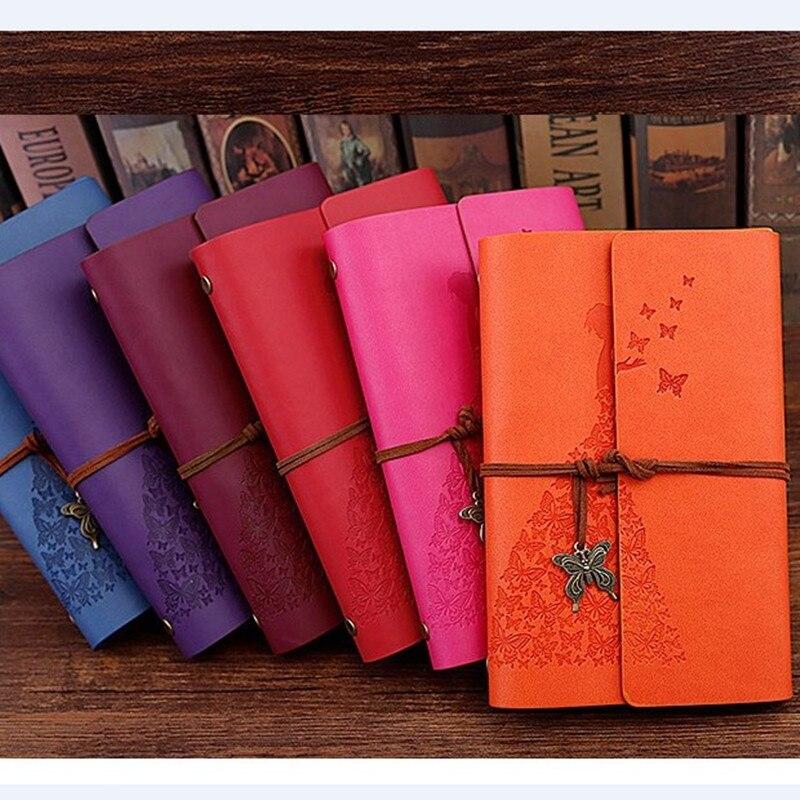 Nuevo cuaderno de viajeros diario Bloc de notas Vintage literatura PU A6 A5  cuero nota libro papelería regalo viajero diario los planificadores -  a.glope.me 1dafb3df439e
