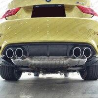 M3 M4 Carbon Fiber Rear Bumper Diffuser Lip for BMW F82 F83 M4 F80 M3 2014 2015