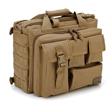 "Men's Shoulder Bags Molle Outdoor Sport Rucksack 15"" Laptop Camera Mochila Military Tactical Computer Bag(China (Mainland))"