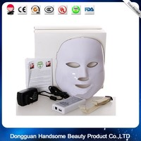 LED Photon Therapy Red Blue Green Light Treatment Rejuvenation Photodynamics Mask Daily Beauty Skin Care
