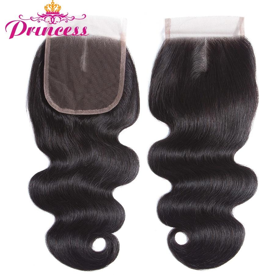 HTB1RLC1fRjTBKNjSZFwq6AG4XXa2 Beautiful Princess Body Wave Human Hair Bundles With Closure Double Weft Remy Brazilian Hair Weave 3 Bundles With Closure