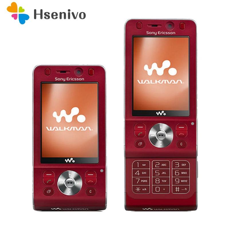 100% Original Sony Ericsson W910i Mobile Phone 3G Bluetooth FM Unlocked W910 Cell Phone Free Shipping