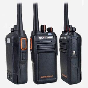 Image 5 - Wasserdicht Walkie Talkie 18 W High Power Professionelle Portable Radio Station LYT 980 400 520 MHz Transceiver