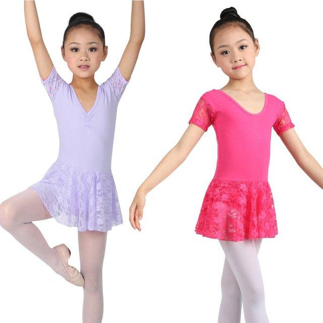 2da370203e13 Cute Girls Ballet Dress For Children Dance Clothing Kids Ballet ...