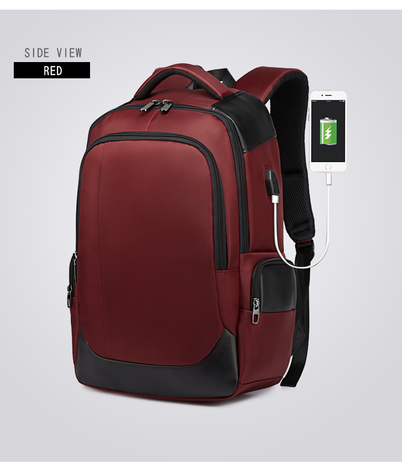 Anti-Theft Business Travel Ordinateur Sac à dos avec USB Holife Ordinateur Portable Sac à dos