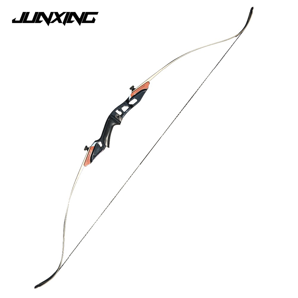 58 American Hunting Recurve Bow with Blue or Red Risers 25-50 LBS for Outdoor Archery Hunting Target Shooting 54 inch recurve bow american hunting bow 30 50 lbs for archery outdoor sport hunting practice