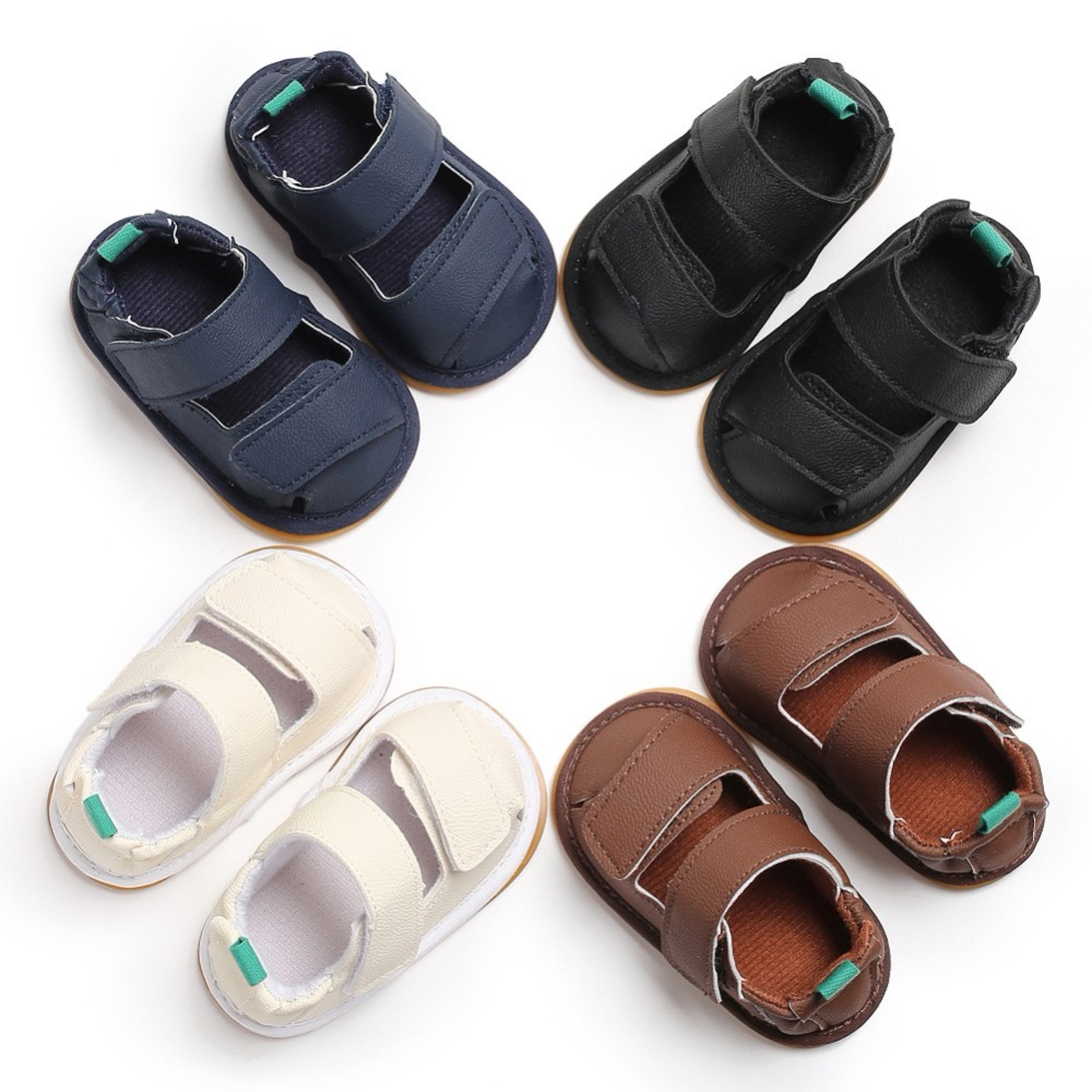 Baby Girl Summer Shoes anti slip PU Leather First Walker Soft Soled Baby Shoes High Quality