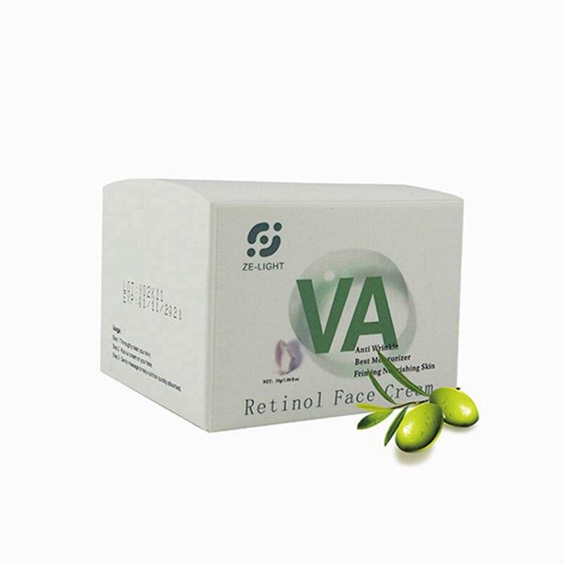 Retinol 2.5% крем для лица Анти Старение Отбеливание Увлажняющий крем уменьшает морщины Веснушка жожоба гладкое лечение крем Lifit