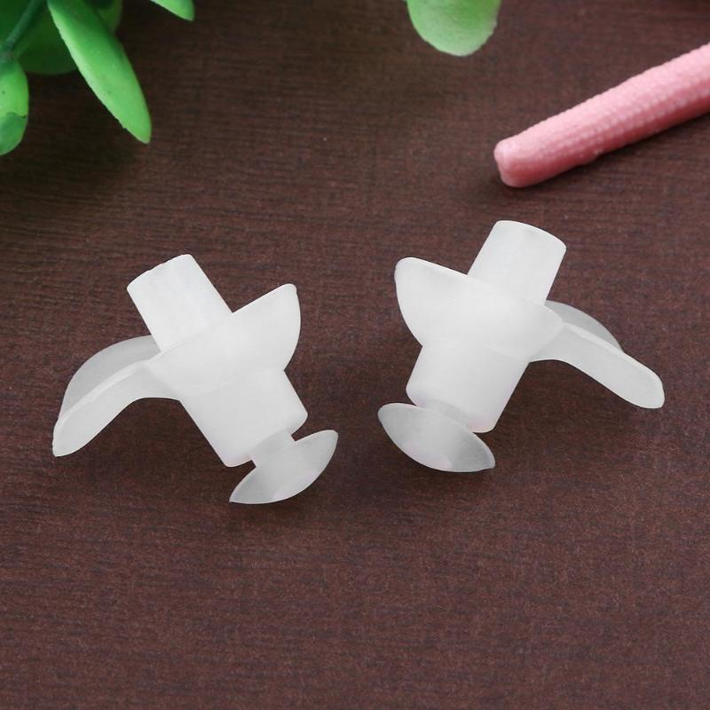 Flower Shape Waterproof Soft Silicone Earplugs Swimming Nose Clip Earplugs for Adults Summer Swimming Diving Pool Accessories