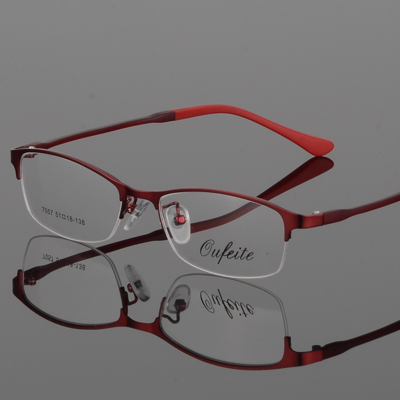 BCLEAR New Arrival Women Metal Alloy Glasses Frame Ultra-Light Frames - Kläder tillbehör - Foto 3