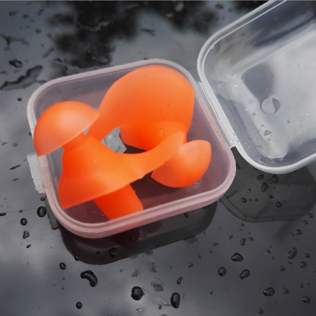 MagiDeal Soft Silicone Earplugs Flexible Ear Plugs for Swimming Sleeping Bathing Scuba Diving Water Sports Accessories in Pool Accessories from Sports Entertainment
