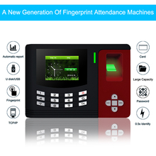 OULET Biometric Attendance System Fingerprint Reader TCP/IP USB Access Control Time Attendance Clock Recorder Employees Device zk software fingerprint time attendance tx628 3 inch tft color screen display tcp ip usb time recorder machine