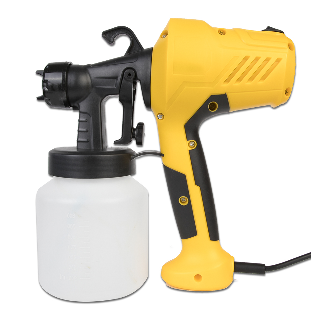 800ML Electric Paint Sprayers Gun In High Power With Plastic Spool Nozzle For Easy Spraying 12