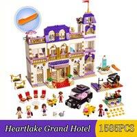 Bricks Bricks 41101 Belle Heartlake Grand Hotel Block Building Blocks Birthday Gift For Girls Toys For