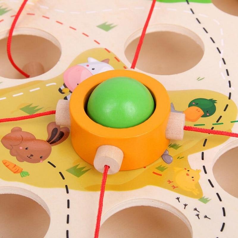 Creative Wooden Ball Maze Game 3