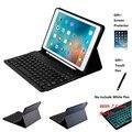 7 цветов клавиатура с подсветкой кожаный чехол с карандашом Bluetooth для iPad Air 3 10 5 2019 Pro 10 5 2017