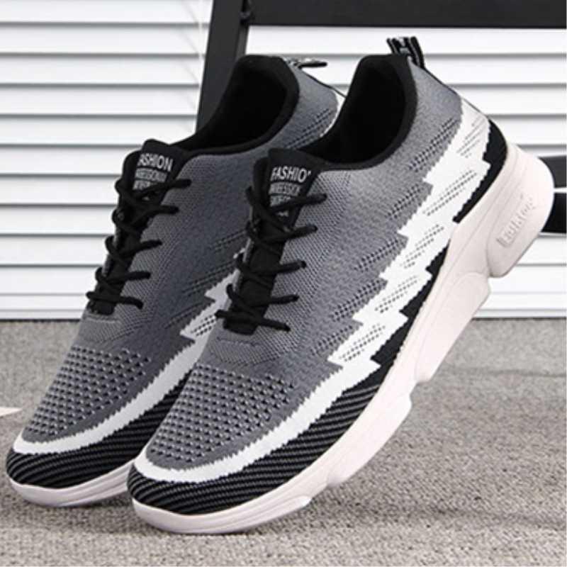 2019 спортивные кроссовки для мужчин пара повседневная обувь мужские туфли на плоской подошве открытый дышащие кроссовки прогулочная спортивная кроссовки