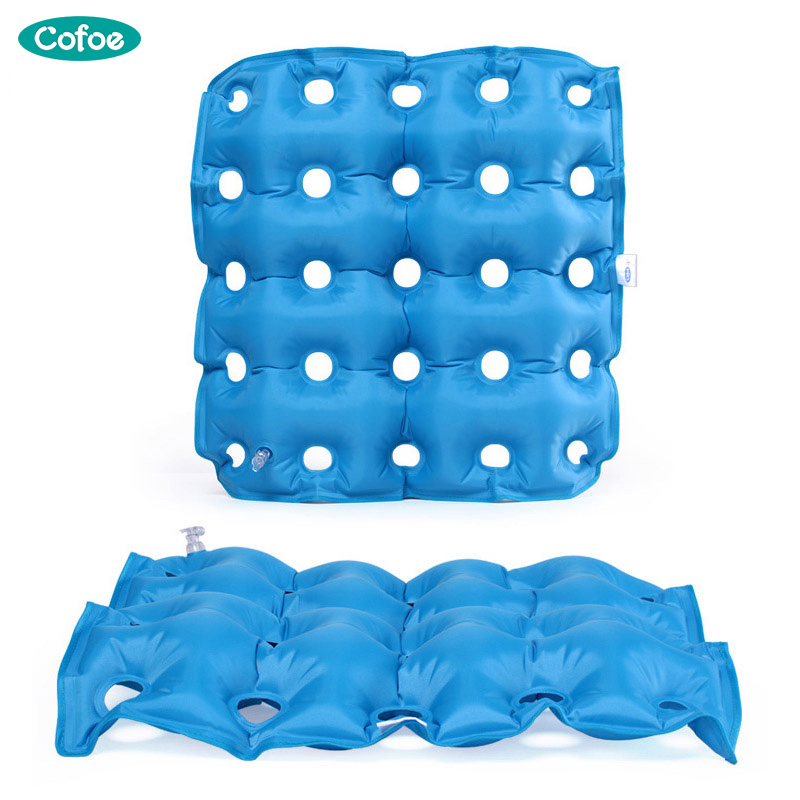 Cofoe Medical Home Seat Cushion Inflatable Cushion Wheelchair Square/Round Anti-hemorrhoids Buttocks Massage Prevent Bedsore