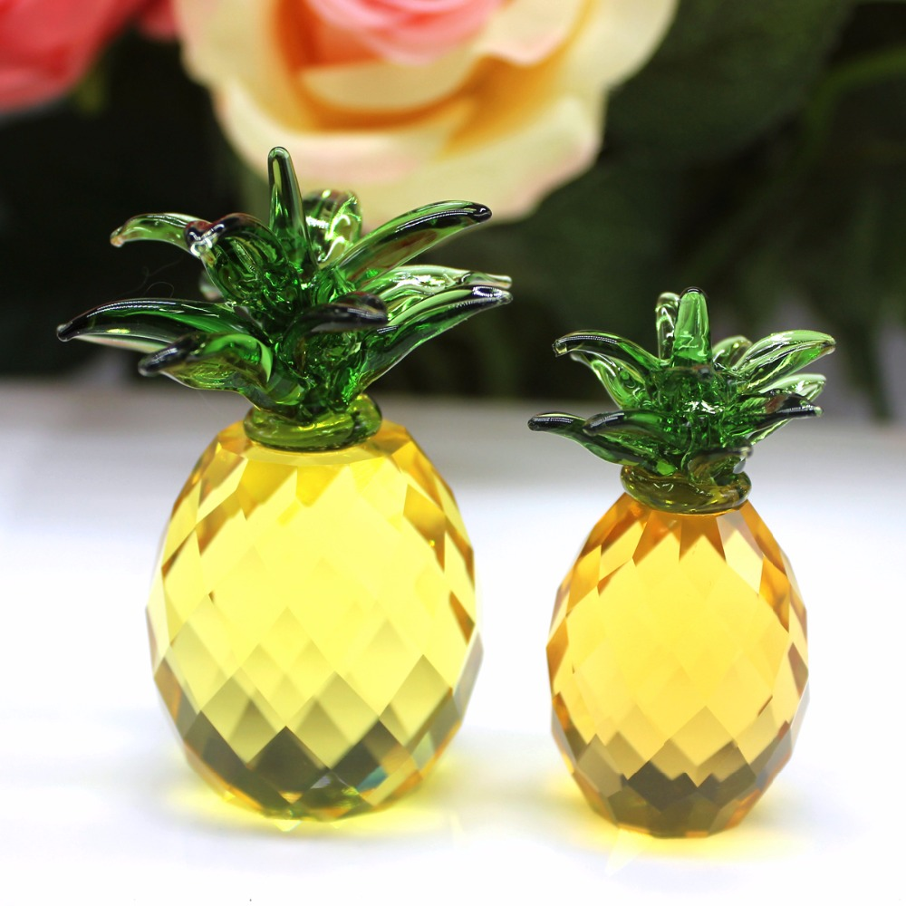 Aliexpress.com : Buy Crystal Pineapple Crafts Art&Collection ...
