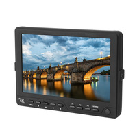7 Inch 4K Camera HDMI HD Monitor Video TFT Field DSLR Lcd Monitor Suitable For All