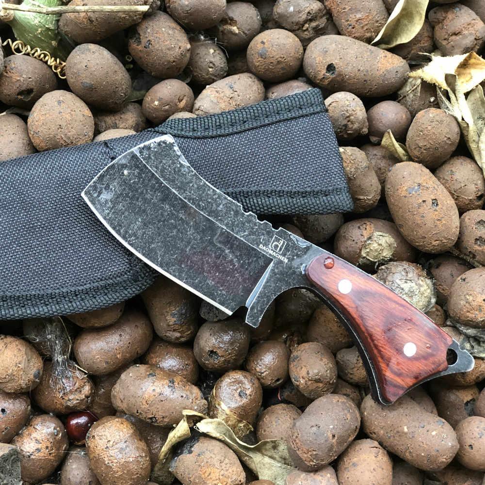 DAOMACHEN săn bắn chiến thuật dao ngoài trời cắm trại tồn tại dao đa lặn công cụ & công cụ Đá rửa blade nhỏ con dao nhà bếp
