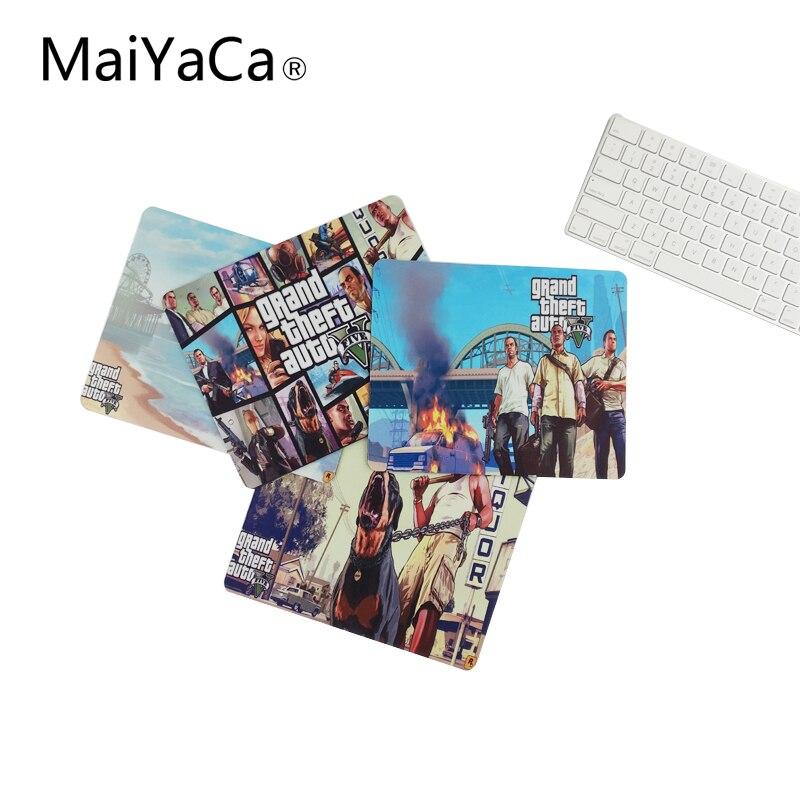 MaiYaCa GTA 5 Beach Weather Computer Gaming Pad To Mouse Rubber Pad