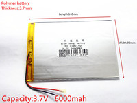 9inch 10inch Large Capacity 3 7 V Tablet Battery 6000 Mah Each Brand Tablet Universal Rechargeable