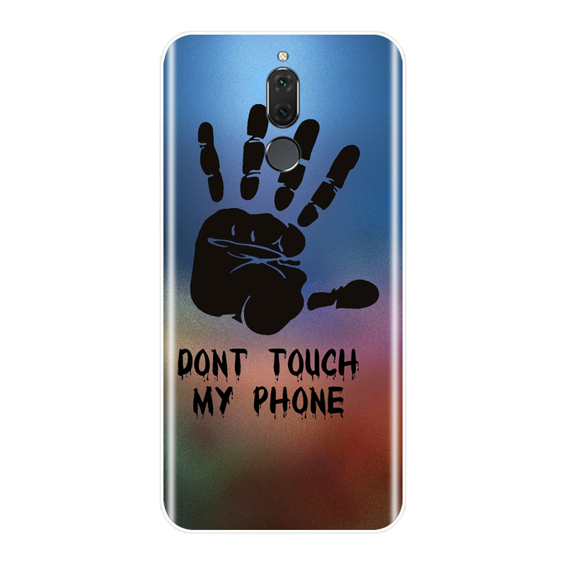 Phone Case For Huawei Mate 10 Lite Soft Silicone TPU Ultra Thin Cool Painted Back Cover For Huawei Mate 7 8 9 Lite Pro Case