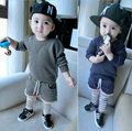 2016 High Quality Spring Autumn Casual Baby Boy Clothing Set Boy Sports Suit Set Children Outfits Girls Tracksuit Clothes F53
