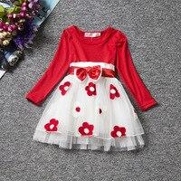 Long Sleeve Baby Girls Dress For Girl Christening Birthday Newborn Toddler Dresses Kids Casual Clothes Vestido Infantil 24M