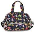 Moda Multicolor Tote Nappy Bolsa Cruzada cuerpo Multifuncional Bolsos de La Momia de Maternidad Del Bolso Del Bebé Bolsas de Pañales Bolsas de Hombro