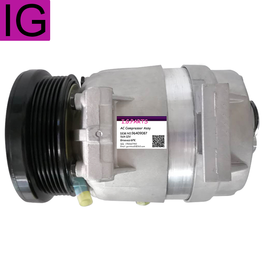 Auto Air Conditioning AC Compressor For Chevrolet Epica 2 0L 2 5L 2005 2012 96409087 in Air conditioning Installation from Automobiles Motorcycles