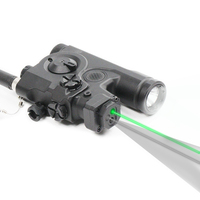 Laserspeed Multi Functional Tactical Laser Outdoor Hunting Rifle Green And Infrared Laser And Led Flashlight With Ir Illuminator