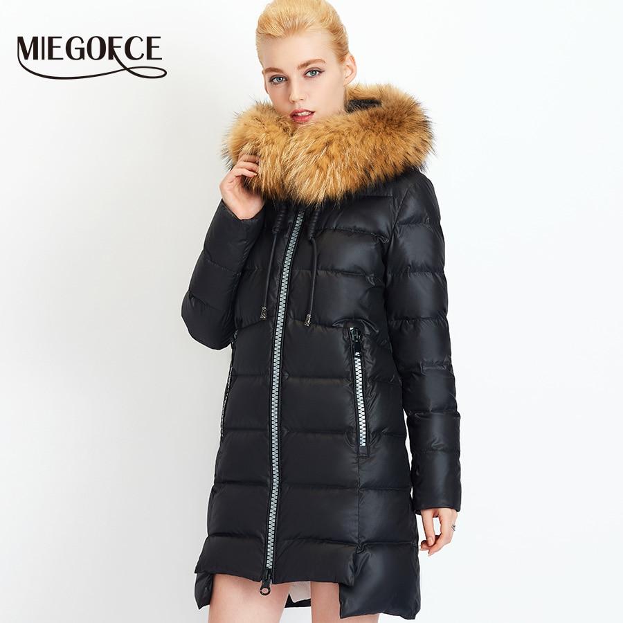 2018 Miegofce Simple Collection Hiver Mode Femmes de Veste parkas Bio vers  le bas Chaud Épaississement Coton Rembourré Femme Veste Manteau ... d39a3177f2bc