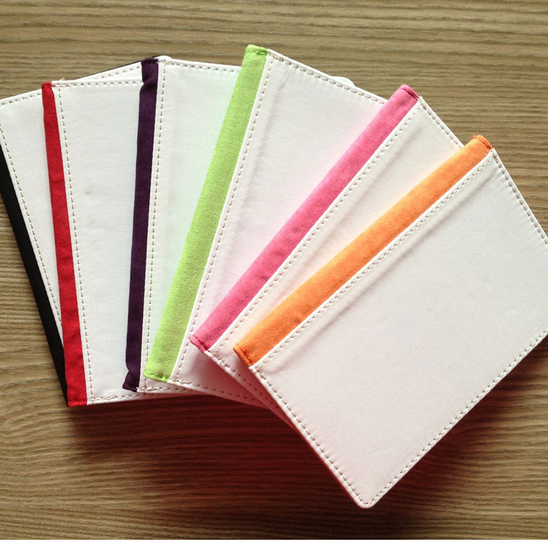 Sublimation Passport Cover Card Holders Hot Transfer Printing Leather Passport Card Holder Blank Consumables 5pieces/lot