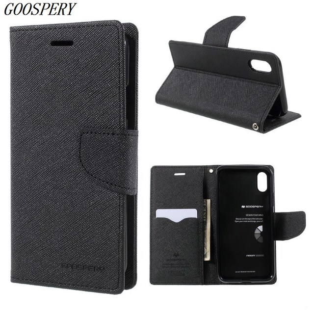 coque iphone x lether folio