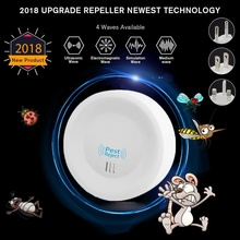 Smart Ultrasonic Pest Repellent Household Silent Mosquito Re