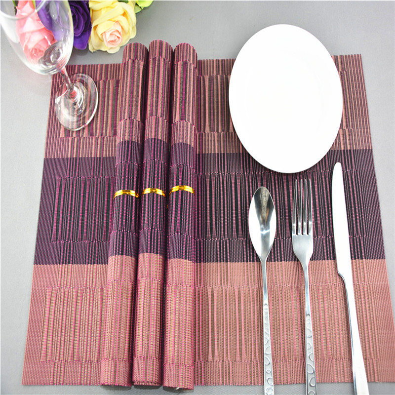 Retro Nordic Style Placemat Dining Table Mats Set De Table Bowl Pad Napkin Dining Table Tray Mat Coasters Kids Table Set Casa