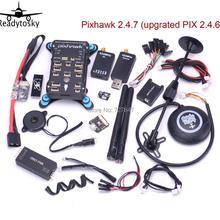 Pixhawk PX4 Pixpilot v 2.4.7/Pix v 2.4.8 открытая аппаратная автопилот M8N gps Minim OSD 433 Телеметрия