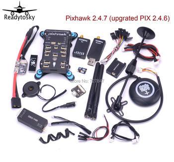 Pixhawk PX4 Pixpilot v 2.4.7 /  Pix v 2.4.8 open-hardware Autopilot M8N GPS Minim OSD 433 Telemetry