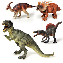 Jurassic Big Dinosaur Vinyl Doll Model Toy Simulated Solid Action Figures Animal Collection Dinosaur Toy For Children цена 2017
