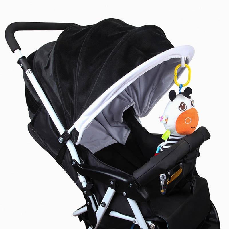 Baby Kinderwagen Hängen Puppe Rasseln Abacus Bett Glocke Beißring Plüsch Cartoon Kuh Infant Spielzeug Bm88 So Effektiv Wie Eine Fee