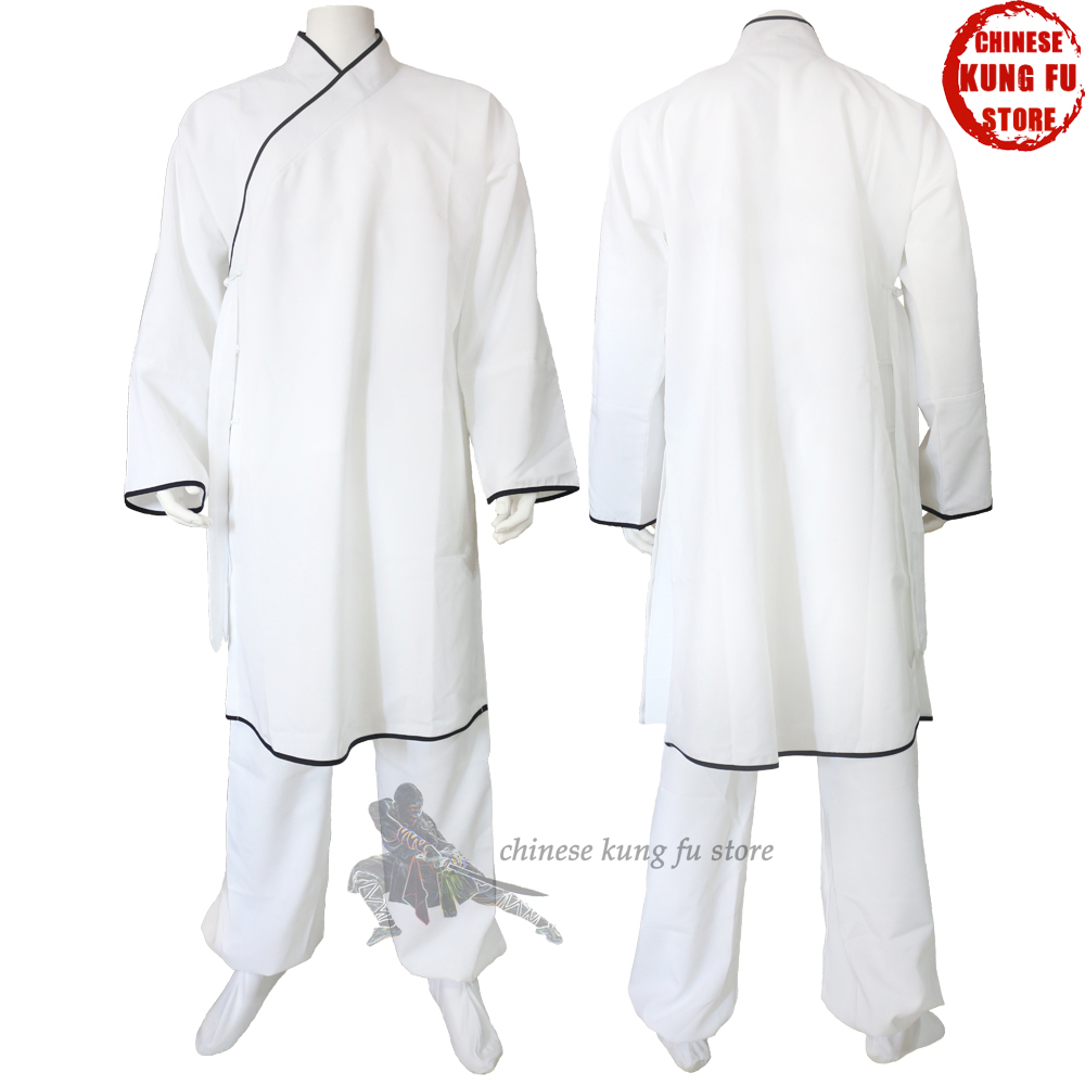 Old Style Chinese Kung fu Clothes Shaolin Tai Chi Uniform Martial arts Wushu Karate Wing Chun Suit new pure linen retro men s wing chun kung fu long robe long trench ip man robes windbreaker traditional chinese dust coat