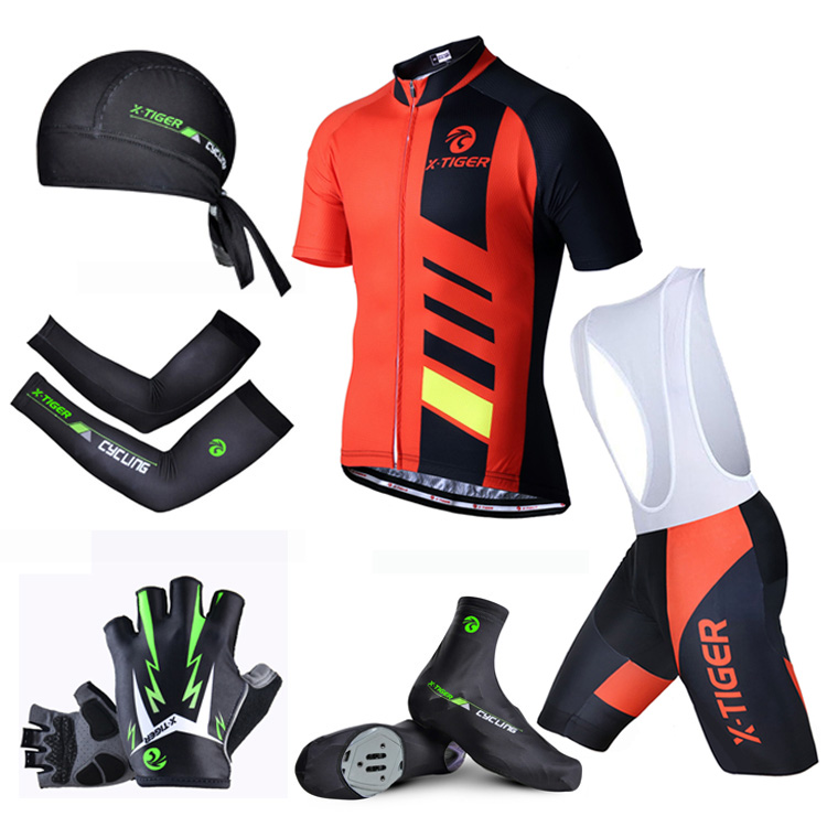 Pro X-Tiger  Summer Big Cycling Set ! Breathable Pro Summer MTB Bike Clothes Bicycle Jerseys Clothing Ropa Maillot Ciclismo cycling clothing summer men cycling jerseys bike clothing bicycle short ropa ciclismo breathable sportwear bike clothes